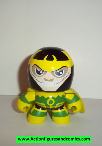 mighty muggs mini marvel universe LOKI complete 2007 mugs 3 inch