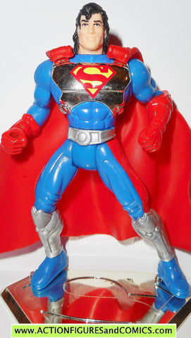 Superman Man of Steel CYBER LINK CHROME CHEST variant kenner action figures