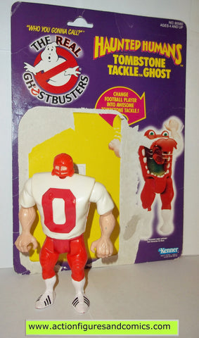 ghostbusters TOMBSTONE TACKLET football player 1988 the real kenner complete full card