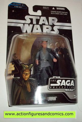 star wars action figures LABRIA 073 Saga 2006 moc mip mib