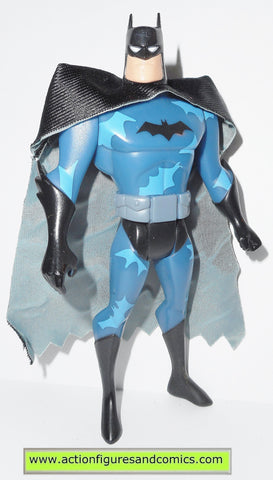batman animated series BATMAN camo blue mattel toys action figures