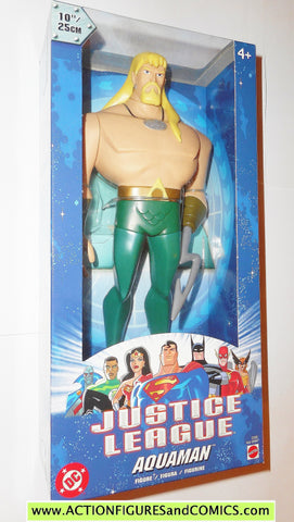 justice league unlimited AQUAMAN 10 INCH 2003 dc universe action figures moc mib