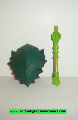 masters of the universe CLAWFUL weapon set green shield club upgrade classics