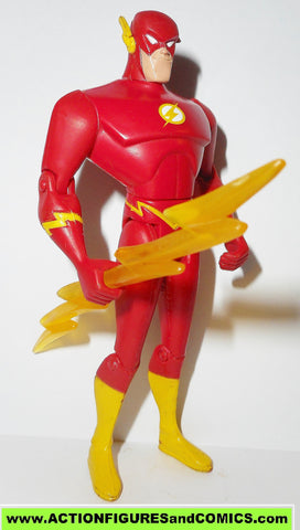 justice league unlimited FLASH lightning bolt yellow dc universe