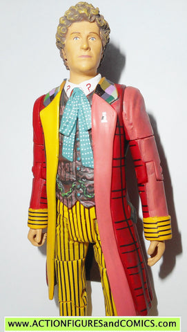 doctor who action figures SIXTH DOCTOR 6th DR Colin Baker underground toys