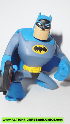 dc universe action league BATMAN grapple gun Blue brave and the bold toy figure