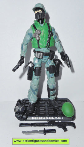 gi joe SHOCKWAVE shockblast 2009 v3 walmart rise of cobra movie action figures