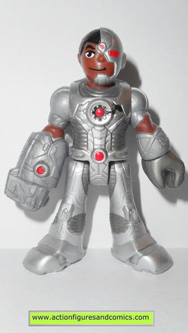 DC imaginext CYBORG fisher price justice league super friends