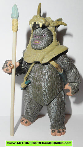 star wars action figures TEEBO ewok attack of the clones saga 2002