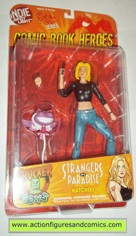 Comic Book Heroes MAXX series KATCHOO strangers in paradise indie spot light mib moc mip