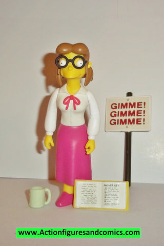 Simpsons MISS HOOVER 2003 series 14 complete wos mrs ms