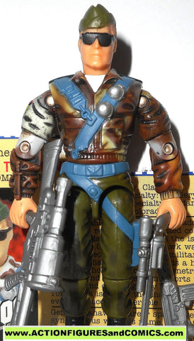 gi joe GENERAL HAWK TOMAHAWK 2000 ARAH a real american hero Complete