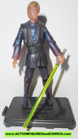 star wars action figures LUKE SKYWALKER jabba's palace holographic otc original trilogy trilogy 2005