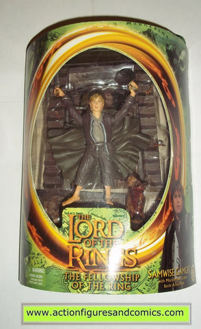 Lord of the Rings SAMWISE GAMGEE moria mines goblin base toy biz hobbit movie action figures mib moc mip