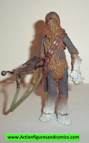 star wars action figures CHEWBACCA HOTH tin 30th anniversary 2006 2007