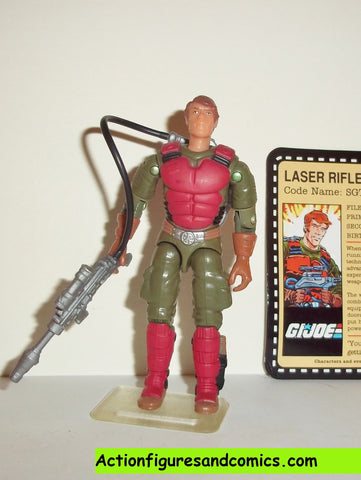 gi joe FLASH SGT 2007 tanks for the memories cobra joe con convention exclusive 25th anniversary action figures