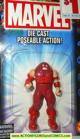 Marvel die cast JUGGERNAUT poseable action figure 2002 toybiz x-men universe moc