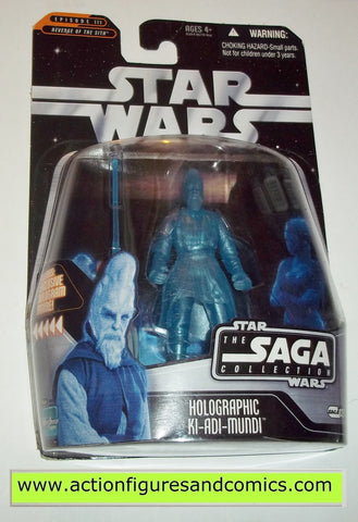 star wars action figures KI ADI MUNDI holographic Saga moc mip mib
