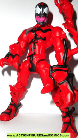 Marvel Super Hero Mashers CARNAGE 6 inch universe 2014 Spider-man action figure
