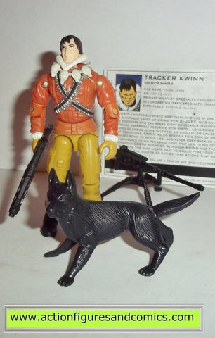 gi joe KWINN TRACKER & TIMBER wolf 2004 valor vs venom Hasbro toys action figures