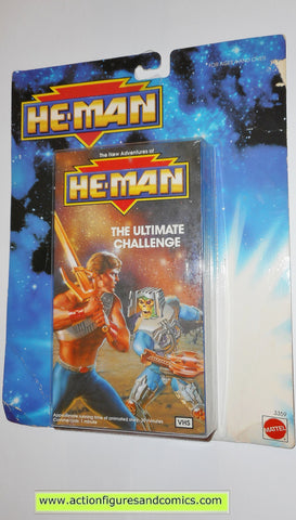 Masters of the Universe HE-MAN ULTIMATE CHALLENGE VHS VCR new adventures mattel toys action figures mosc