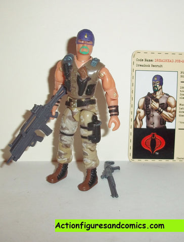 gi joe DREADNOK JOE BOB 2004 joe con convention exclusive complete rampage in the everglades