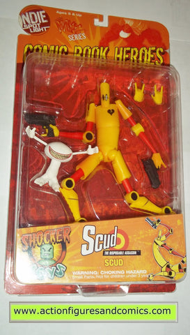 Comic Book Heroes MAXX series SCUD YELLOW variant mib moc mip