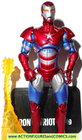 marvel universe IRION PATRIOT series 2 019 19 2010 harry osborne