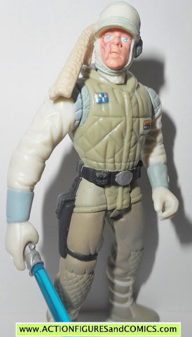 star wars action figures LUKE SKYWALKER wampa beast rider power of the force 1997