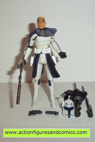star wars action figures CAPTAIN REX 2008 clone wars trooper commander hasbro toys