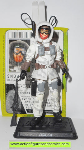 gi joe SNOW JOB 2009 v5 rise of cobra movie action figures