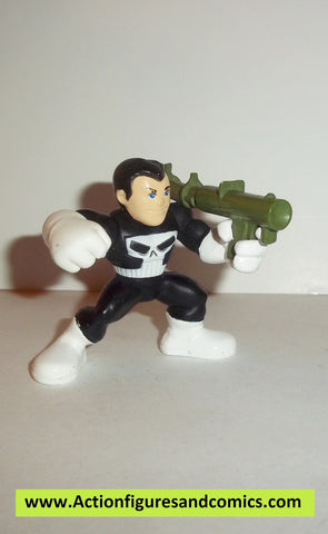 Marvel Super Hero Squad Punisher Green Bazooka Arme de Combat New York 4-Pack