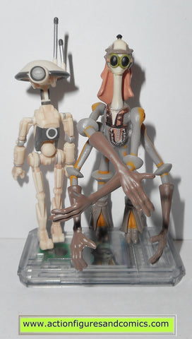 star wars action figures GASGANO & PIT DROID 1999 episode I 1 complete hasbro toys