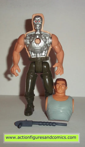 Terminator kenner BATTLE DAMAGE TERMINATOR movie 2 future war action figures toys