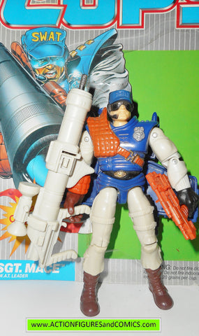 Cops 'n Crooks SGT MACE 1988 full card hasbro c.o.p.s action figures
