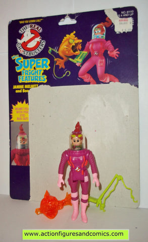 ghostbusters JANINE MELNITZ super fright features 1986 the real kenner complete full card