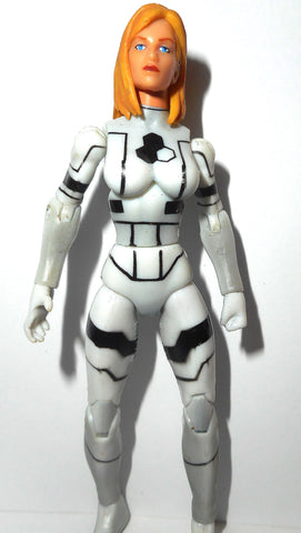 marvel universe INVISIBLE WOMAN future foundation white variant fantastic four 4 hasbro 3.75 inch action figures complete