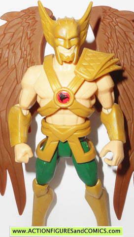 DC universe total heroes HAWKMAN 2013 6 inch animated action figures
