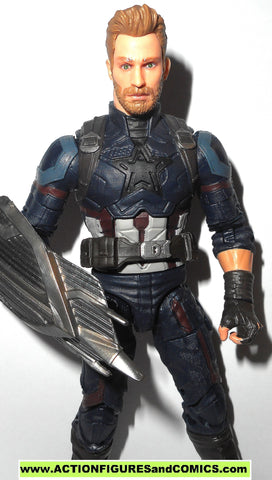marvel legends CAPTAIN AMERICA steve rogers infinity war avengers 6 inch toy figure