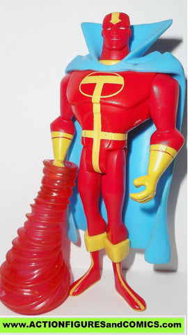 justice league unlimited RED TORNADO yellow T version w whirl