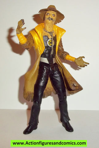 dc direct SCARECROW sinestro corps yellow Blackest night series collectables action figures fig