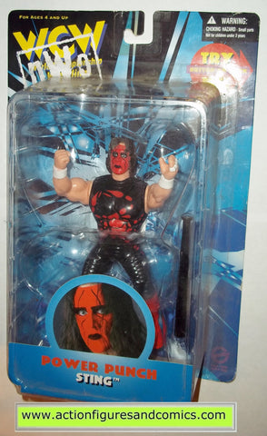 sting power punch wcw nwo action figures toys