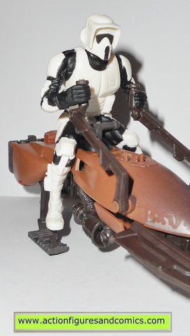 star wars action figures SPEEDER BIKE BIKER SCOUT 1997 trooper power of the force