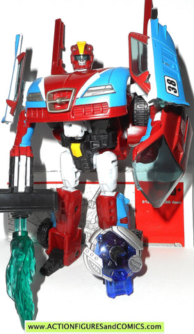 transformers cybertron SMOKESCREEN 6 inch deluxe class 2006 action figure inst