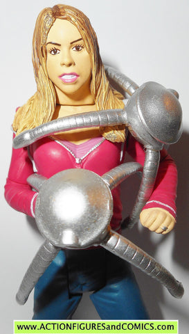 doctor who action figures ROSE TYLER two robot spiders dr underground toys