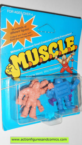 Muscle m.u.s.c.l.e men kinnikuman 4 pack moc ROLLERMAN mattel action figures