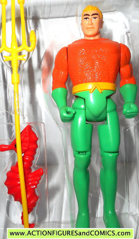 DC comics Super Heroes AQUAMAN 1990 toy biz toybiz universe action figure tray