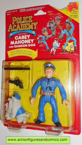 Police academy action figures CAREY MAHONEY 1988 moc kenner toys