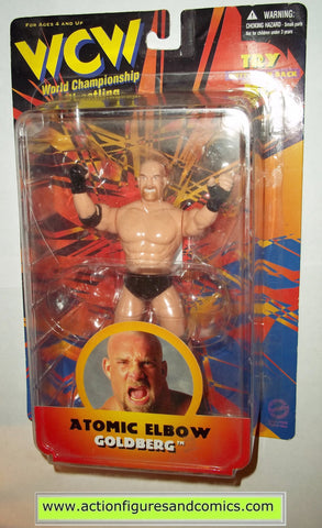 goldberg wcw toys action figures atomic elbow