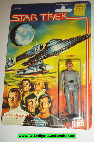 Star Trek SCOTTY 1979 mego vintage action figures moc mip mib